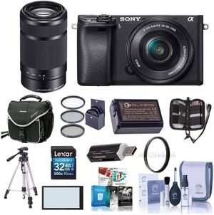 Sony Alpha A6000 DSLR 16-50mm f/3.5-5.6 OSS & 55-210mm f/4.5-6.3 OSS Lens Bundle Items(In picture) for Sale in New York, NY