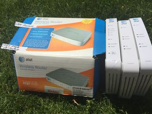 3 AT & T wireless routers for Sale in Niles, IL