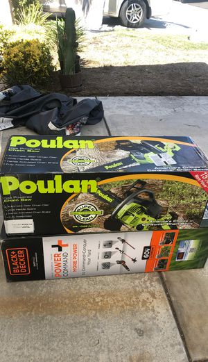 Chainsaw / trimmer for Sale in San Diego, CA