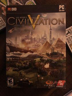 Civilization pc dvd computer game for Sale in Aberdeen,  WA