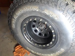 5 33 in tires and 4 rims brand new for Sale in Arvada, CO