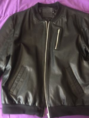 ASOS leather bomber for Sale in MD, US
