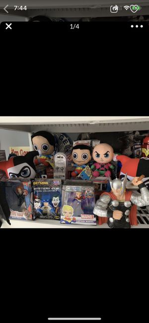 Superhero plush toys games collectables for Sale in Corona, CA