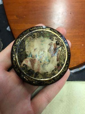 Antique Victorian French Bakelite Compact Mirror for Sale in Boynton Beach, FL