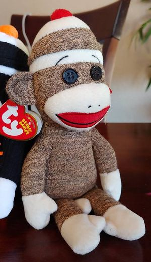 Pair of 2012 Ty Sock Monkey Beanie Babies for Sale in Kyle, TX