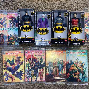 Batman Robin Joker DC Mini Comics Batman Missions Action Figure Lot for Sale in San Antonio, TX