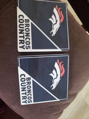 Broncos Coasters for Sale in La Mirada, CA