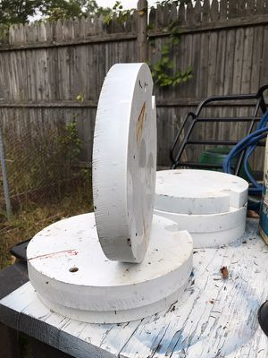 EXTRA HEAVY DUTY Garden Tractor WHEEL WEIGHTS for Sale in Plymouth, MA