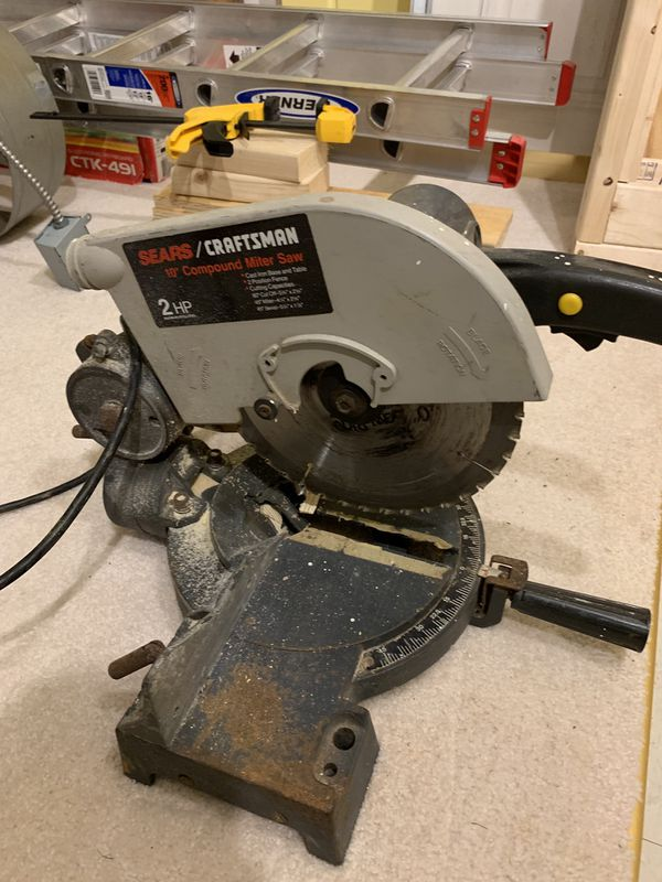 "Compound 10"" Miter Saw"