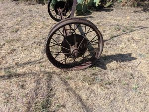 Vintage Steel Spoke Wheels for Sale in Abilene, TX