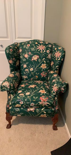 Wing back chair for Sale in Portland, OR