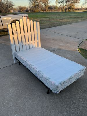 Twin headboard and frame for Sale in Crowley, TX