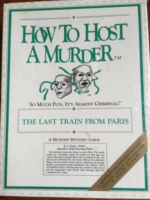 The Last Train From Paris murder mystery game for Sale in Alexandria, VA