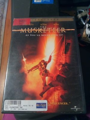 DVD The Musketeer for Sale in Pomona, CA