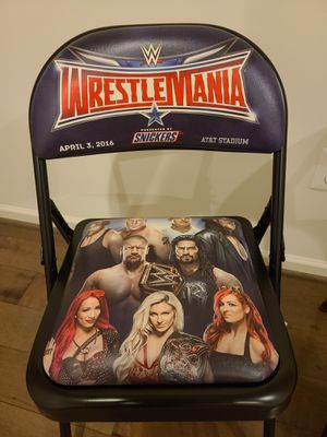 WWE Wrestlemania 32 Ringside Chair(s) for Sale in Gaithersburg, MD