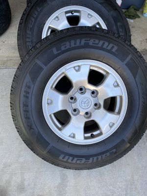Rims&tires Tacoma, fits other too firm price precio fijo for Sale in Bloomington, CA