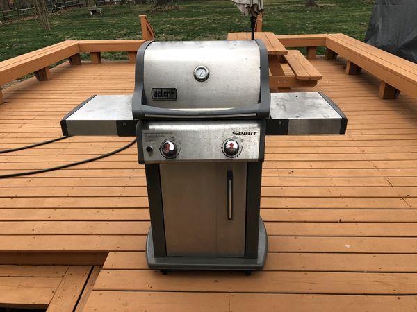 Weber Spirit 2 Burner Grill FREE