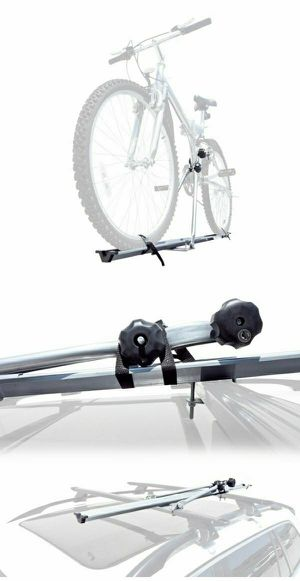 Brand new rooftop bike carrier rack strap bicycle on car roof mounting adjustable durable light weight for Sale in South El Monte, CA