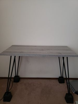 Desk + twin mattress bed frame for Sale in Sunnyvale, CA
