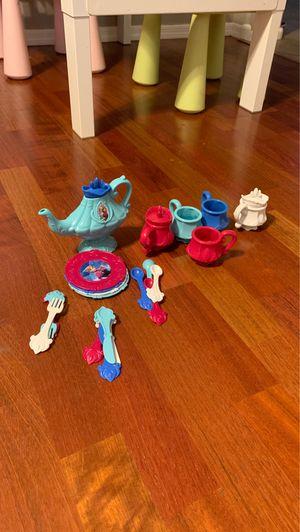 Elsa tea set for Sale in Laveen Village, AZ