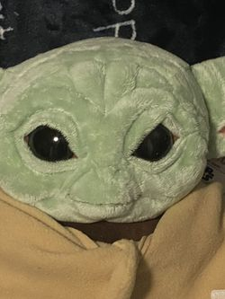 Baby Yoda Plush From Build A Bear for Sale in Avondale,  AZ