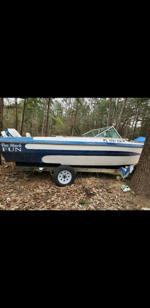 Evinrude motor and boat for Sale in Whitehouse, TX