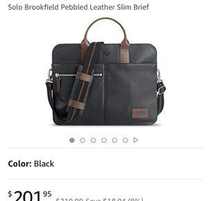 Black briefcase for Sale in Manassas, VA