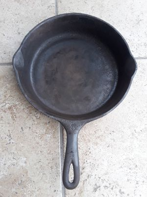 Wagner Ware Sidney Cast Iron Skillet Frying Pan for Sale in Houston, TX