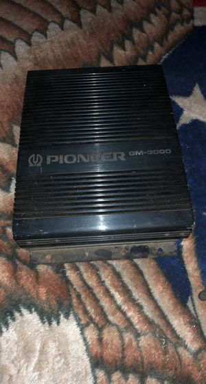 Pioneer amp 3000 Whatts for Sale in Pasadena, CA