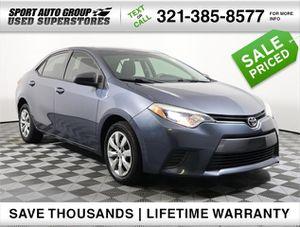 2015 Toyota Corolla for Sale in Orlando, FL
