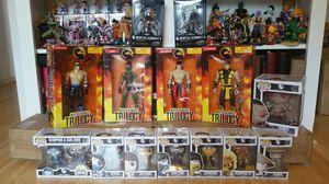 Mortal Kombat Collection (figures, funko, bobblehead) for Sale in Houston, TX