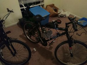 I have a 80cc motorized bike 100 to 120 miles per gallon of gas go from point a til point b if good around town and on back roads for Sale in Macon, GA