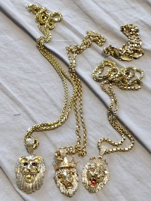 REAL GOLD DIAMOND CHAINS for Sale in Washington, DC
