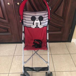 Disney Baby Umbrella Stroller, Red for Sale in Foster City, CA