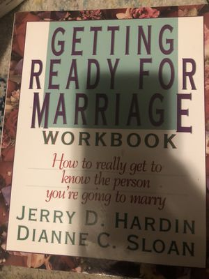 Getting ready for marriage workbook for Sale in Plattsburg, MO