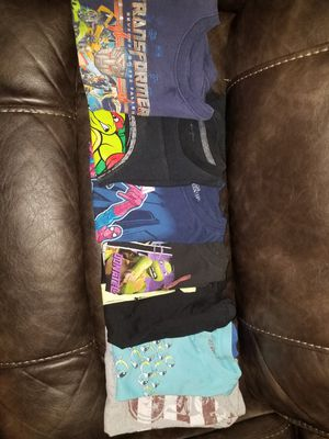 7 little boys shirts size 7/8 $5 for all for Sale in Stockton, CA