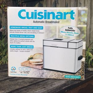 NEW! Cuisinart Stainless Steel Bread Maker for Sale in Bowling Green, KY