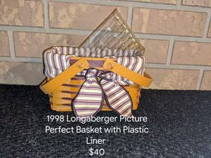 1998 Longaberger Picture Perfect Basket for Sale in Orange City, FL