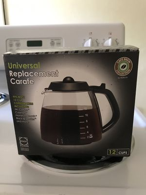 Universal replacement carafe for Sale in Oakland Park, FL