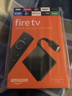 Fire TV 4K for Sale in Chula Vista, CA