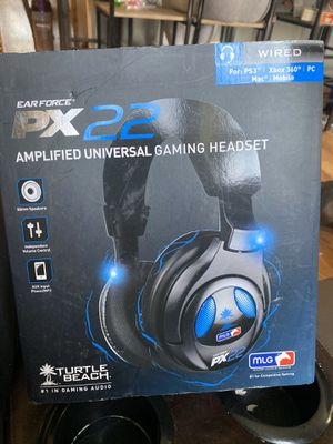 Gaming headset px22 turtle beach🏝 for Sale in Hyattsville, MD