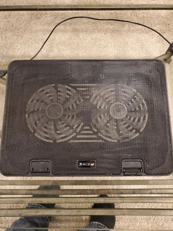 Siker laptop cooling pad used
