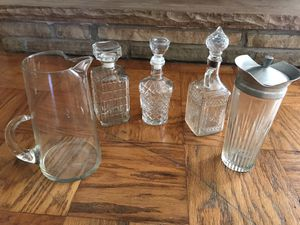 BAR SET Liquor Cabinet Vintage for Sale in Tulsa, OK
