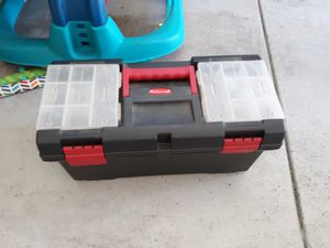 Tool box with tools $35 only for Sale in Huntington Beach, CA