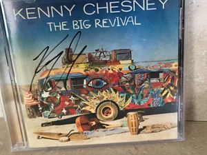 authentic autographed Kenny Chesney CD for Sale in Norfolk, VA