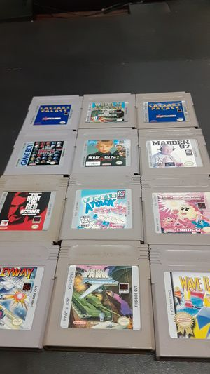 Gameboy Games for Sale in Rialto, CA