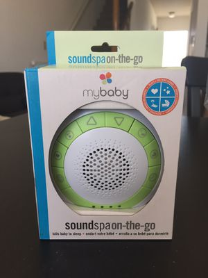 NEW MYBABY SOUNDSPA ON-THE-GO PORTABLE WHITE NOISE MACHINE for Sale in Torrance, CA