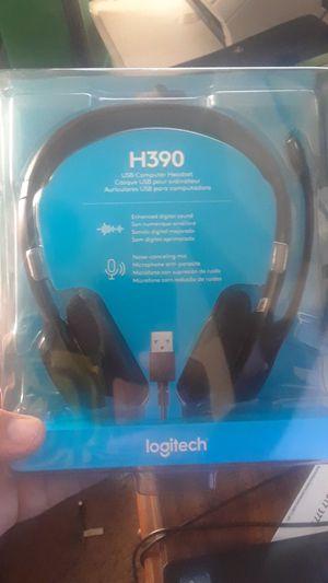 Logitech H-390 Headset for Sale in Terre Haute, IN