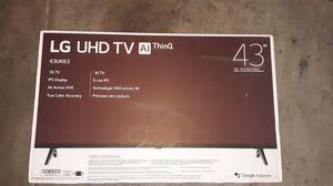 """LG uhd TV 43"""" for Sale in Phoenix, AZ"""