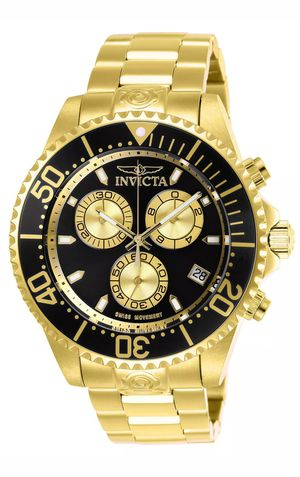 BRAND NEW MEN'S LUXURY GOLD TONE INVICTA CHRONOGRAPH WATCH. for Sale in Hazard, CA